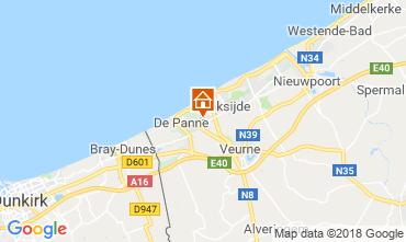 Mapa Koksijde Vivenda 116742