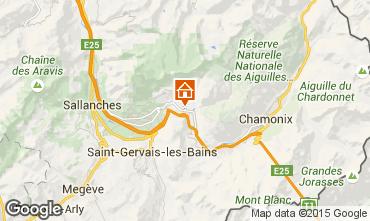Mapa Chamonix Mont-Blanc Apartamentos 689