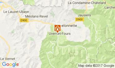 Mapa Barcelonnette Apartamentos 112000