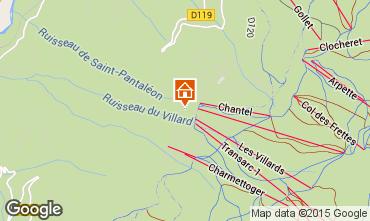 Mapa Les Arcs Apartamentos 51136