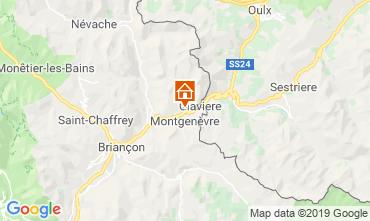 Mapa Montgenevre Apartamentos 82860