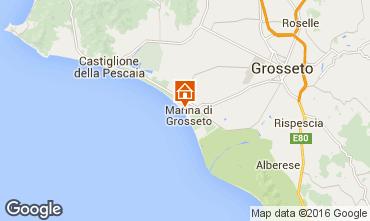 Mapa Marina di Grosseto Apartamentos 103011