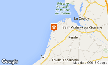 Mapa Cayeux-sur-Mer Casa 81293