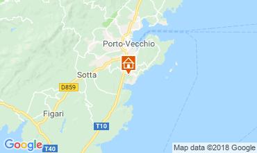 Mapa Porto Vecchio Apartamentos 116785