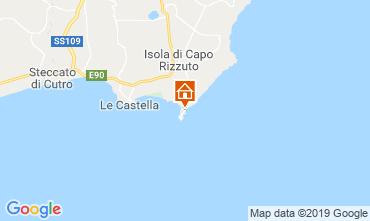 Mapa Isola di Capo Rizzuto Apartamentos 118989