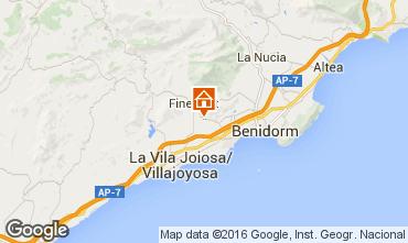 Mapa Benidorm Vivenda 102368
