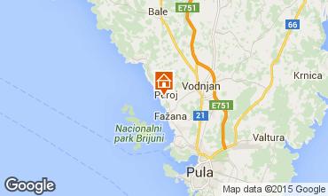 Mapa Peroj Apartamentos 93896