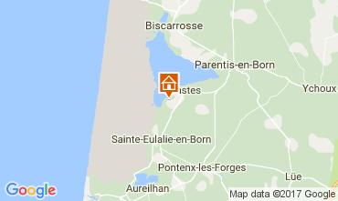 Mapa Biscarrosse Mobil Home 101070