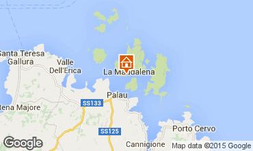 Mapa La Maddalena Apartamentos 77763