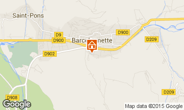 Mapa Barcelonnette Estúdio 98795