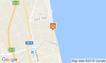 Mapa Alba Adriatica Apartamentos 61621