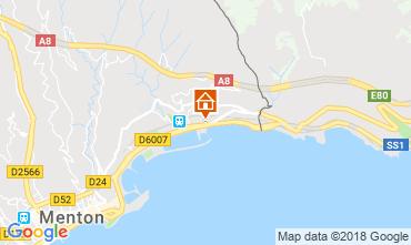 Mapa Menton Apartamentos 59052