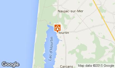 Mapa Hourtin Casa 78677