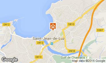 Mapa Saint Jean de Luz Apartamentos 76153