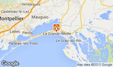 Mapa La Grande Motte Estúdio 78017