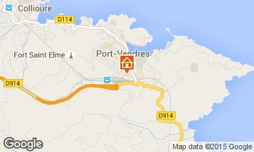 Mapa Port Vendres Apartamentos 82101