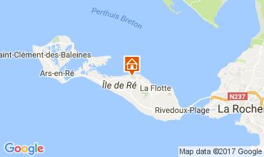 Mapa Saint Martin de Ré Casa 108028