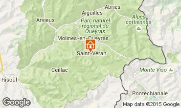 Mapa Molines Saint-Véran Apartamentos 67854