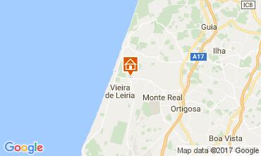 Mapa Praia da Vieira Vivenda 49034