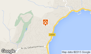 Mapa Sainte Maxime Apartamentos 70898