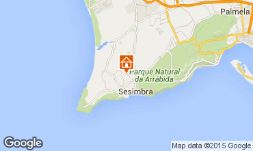 Mapa Sesimbra Apartamentos 43905