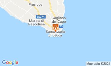 Mapa Santa Maria di Leuca Estúdio 70873