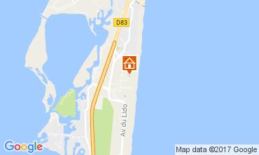 Mapa Le Barcares Casa 103226
