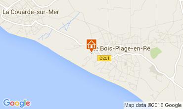 Mapa Le Bois-Plage-en-Ré Casa 15077