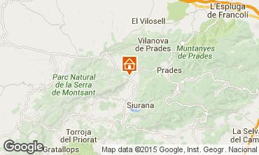 Mapa Tarragona Casa de turismo rural/Casa de campo 42191