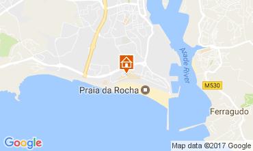 Mapa Praia da Rocha Apartamentos 107960