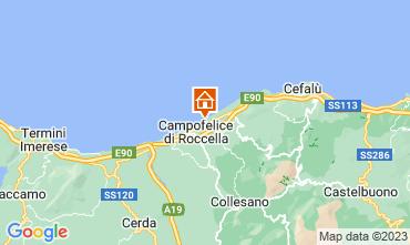 Mapa Cefalù Vivenda 40175