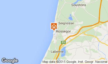 Mapa Hossegor Apartamentos 6479
