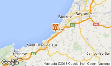 Mapa Biarritz Apartamentos 96607