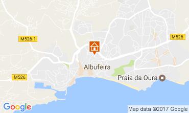 Mapa Albufeira Apartamentos 105739