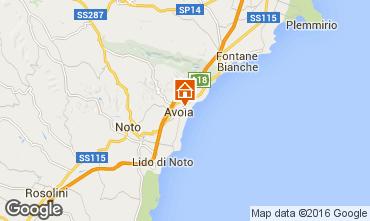Mapa Avola Vivenda 50885