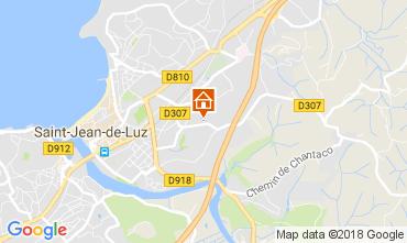 Mapa Saint Jean de Luz Apartamentos 112867