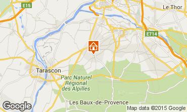 Mapa Saint Rémy de Provence Casa de turismo rural/Casa de campo 12197