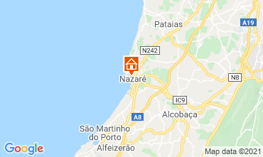 Mapa Nazaré Apartamentos 68798