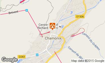 Mapa Chamonix Mont-Blanc Apartamentos 66847