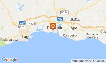 Mapa Praia da Rocha Apartamentos 113833