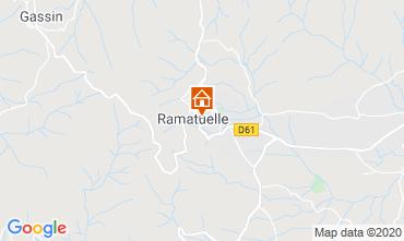 Mapa Ramatuelle Apartamentos 10269