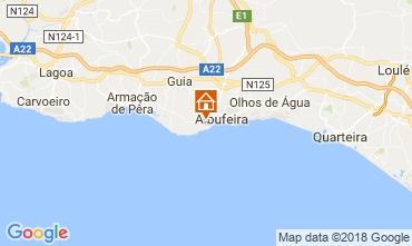 Mapa Albufeira Apartamentos 113722