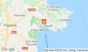 Mapa Rosas Apartamentos 68588