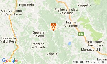 Mapa Greve in Chianti Apartamentos 104392