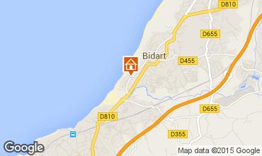 Mapa Biarritz Apartamentos 67987