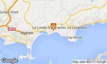 Mapa La Londe les Maures Apartamentos 68566