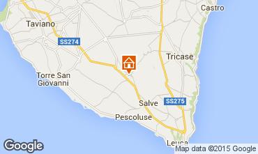 Mapa Pescoluse Apartamentos 73801