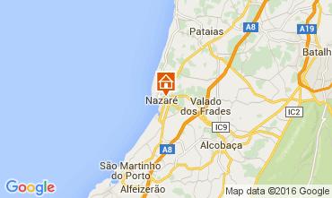 Mapa Nazaré Apartamentos 103683
