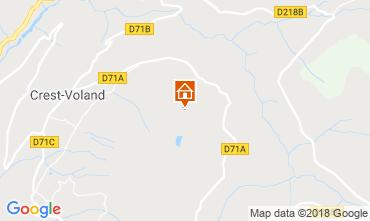 Mapa Crest Voland Cohennoz Casa de turismo rural/Casa de campo 117204
