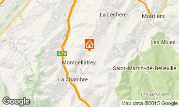 Mapa Saint François Longchamp Apartamentos 67175